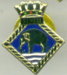 Lapel Pin - HMS GANGES
