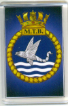 MTB Ship's Badge/ Fridge Magnet
