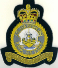 RAF COMMANDS BLAZER BADGE