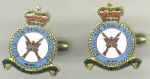 CUFF LINKS - RAF REGIMENT