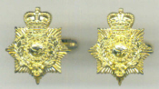 Cuff Links - Royal Marines Pith Helmet Badge