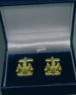 Cuff Links - RN Warrant Officer