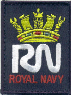 Embroidered Badge - RN Iron on