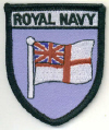Embroidered Badges - Royal Navy