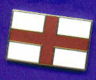 "Embroidered Badges - England (St George Cross)3.5""X2"""