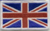 "Embroidered Badges - Union Jack Small (2.5""X1.5"")"