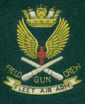 Blazer Badge - FAA Field Gun Crew