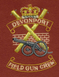 Blazer Badge - Devonport Field Gun Crew
