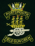 Blazer Badge - Portsmouth Field Gun Crew