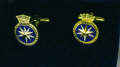 Cuff links - HMS SIRIUS