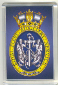 Military Badge Fridge Magnet