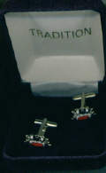 Cuff Links - Royal Naval Crown