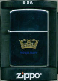 Genuine Zippo Lighter - Royal Navy