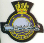 Blazer badge - Submariner WE COME UNSEEN