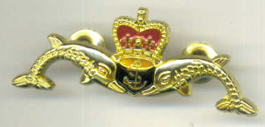 A SUBMARINER's Full size Brooch