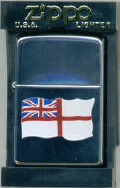 Genuine Zippo Lighter - White Ensign